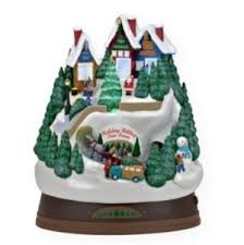 2009 hallmark keepsake magic ornament hilltop tree farm