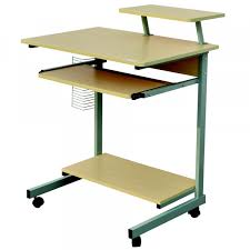 Compact Computer Desks For Home Homegear Compact Home Office Computer Desk On Wheels Maple Golf