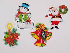 retro christmas decorations ebay