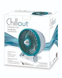 Box Fans Walmart by Chillout Compact Fan Green Silver 1 0 Ct Walmart Com