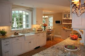 French Style Kitchen Ideas Furniture Vintage France Kitchen Design With White Cabinetry