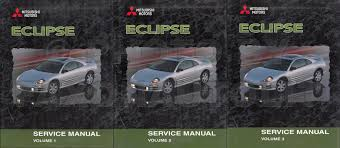 2000 2003 mitsubishi eclipse body manual original