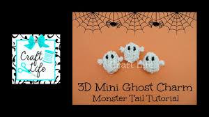 halloween charm bracelet craft life 3d mini halloween ghost charm tutorial on a rainbow