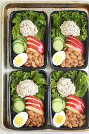 Dans La Cuisine De L Idée Du Week Tuna Salad Meal Prep Hearty Healthy And Light Snack Boxes For