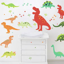 dinosaurs wall stickers chocovenyl dinosaurs wall stickers