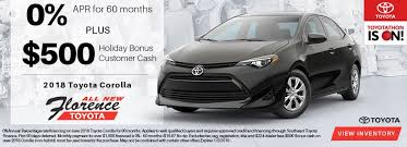 toyota car financing rates toyota special offers florence toyota near myrtle