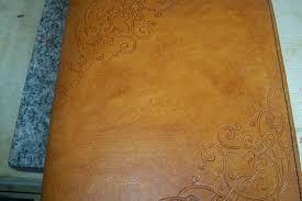 custom leather photo albums buy handmade custom leather photo album with corner scroll designs