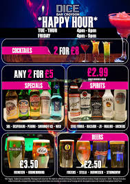 alcoholic drinks at a bar dice bar exclusive croydon bar club restaurant u0026 sports bar