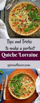 lorraine cuisine quiche lorraine pepper and broccoli quiche spices n flavors