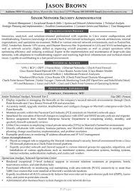 it security manager resume best resume for you