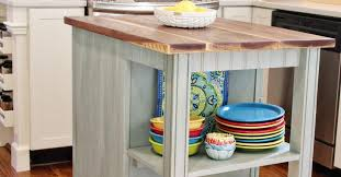 plans for kitchen island diy kitchen island cart with plans hometalk