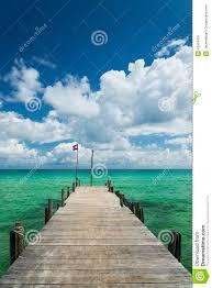 sok san pier on long beach in koh rong island cambodia stock photo