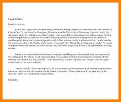 sample reference letter for a nursing student online writing lab