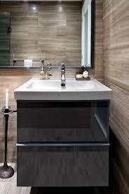 bathroom floating bathroom vanity glass shower room high end