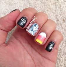 nail art lacquered by blue vanilla