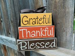 thanksgiving picture search grateful thankful blessed wood blocksthanksgiving blocks