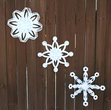 folded dimensional paper snowflakes pazzles craft room