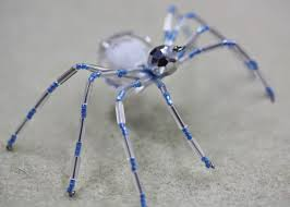 festive christmas spider tutorial bead world