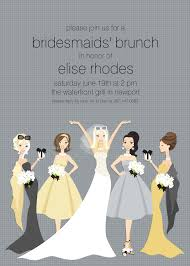 bridesmaid luncheon invitation wording photo bridal luncheon invitations with topiary image