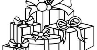 christmas present coloring pages printable gekimoe u2022 112686