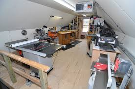compact but comfortable wood shop finewoodworking