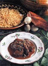 recette de cuisine civet de chevreuil civet de chevreuil spaetzles ménagère recettes de cuisine d