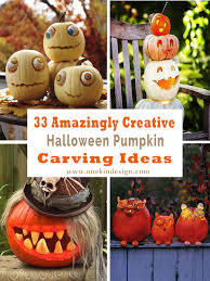 33 amazingly creative pumpkin carving ideas