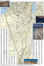 National Geographic Map Map Of Israel National Geographic U2013 Mapscompany