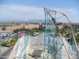 The Goliath Six Flags Goliath Six Flags Magic Mountain U2022 Captain Coaster