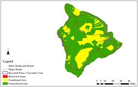 Hawaii Island Map Environmental Health Environmental Geographic Information System
