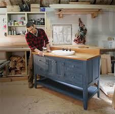 How To Build Your Own Bathroom Vanity Fine Homebuilding - Design your own bathroom vanity