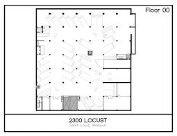 floor plans u2014 2300 locust st louis