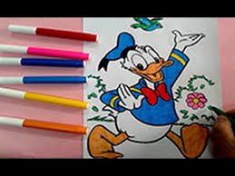 donald duck coloring pages color donald duck disney