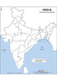 India Blank Map by Sc India Projects Focusky