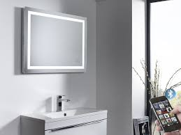 Bathroom Mirror Heated by Illuminated Bluetooth Bathroom Mirror With Speakers Roper Rhodes