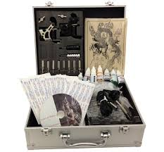 tattoo kit without machine e onsale deluxe tattoo kit 2 tattoo machine guns review tattoos spot