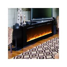 Built In Electric Fireplace Moda Flame Cynergy Crystal Stone Built In Wall Mount Electric