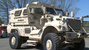 tactical vehicles for civilians crawford county sheriff u0027s department receives new military vehicle