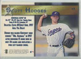 1997 topps stars scott hodges 113 on kronozio