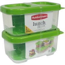 kitchen canisters walmart rubbermaid lunchblox side dish food storage containers walmart com