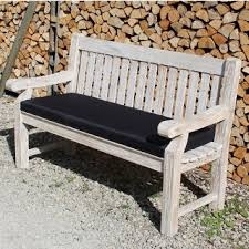 teak 150cm garden bench cushion