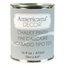 decoart americana decor 16 oz yesteryear chalky finish gray