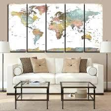 home interiors christmas large push pin world map giant world large wall map home interiors