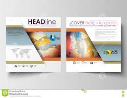 business templates for square brochure magazine flyer booklet