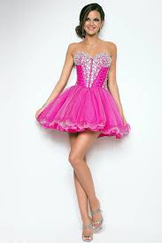 pink prom dress lstore