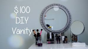 Diy Makeup Vanity Desk 100 Diy Vanity Desk