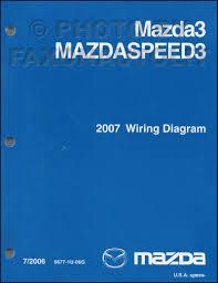 2007 mazda 3 wiring diagram manual original