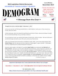 demogram november 17 46th legislative district democrats