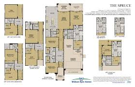 Spanish Floor Plans The Spruce Barrington At Verrado William Ryan Homes