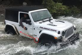 jeep water are you going with hi line or low line fenders 2018 jeep